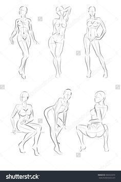 39 ideas drawing poses female standing for 2019 Drawing Female Body, Drawing Body Poses, Body Reference Drawing, Art Reference Poses, Figure Drawing Female, Female Pose Reference, Sketch Poses, Figure Sketching, Art Poses