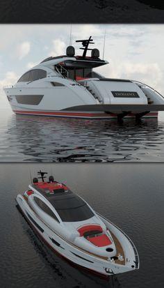 LSY95   Lazzara Custom Yachts