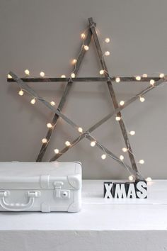 "Love the star. Wish is said ""Christ""mas!!"