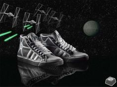 First pair of adidas star wars shoes i bought =)