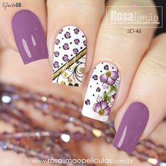 29 best summer floral and butterfly nails – 23 We have chosen the most fashionable nails for this summer. Latest Nail Designs, Cute Nail Designs, Butterfly Nail, Butterfly Pattern, Black Nails With Glitter, Romantic Nails, Great Nails, Cute Acrylic Nails, Square Nails