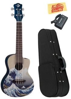 Luna Great Wave Concert Ukulele Bundle with Hardshell Case, Tuner, and Polishing Cloth by Luna. $129.00. Bundle includes Luna Great Wave Concert Ukelele, Hardshell Case, Tuner, and Polishing Cloth.The Great Wave off Kanagawa (1830-1833), also known as The Great Wave is a woodblock print by the Japanese artist Hokusai. Copies of the print are in many collections, including the Metropolitan Museum of Art in New York City and The British Museum in London. Featured on the f...
