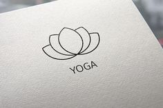 Yoga logo by Sonne on Creative Market
