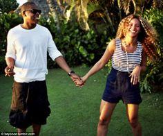 Jay Z and Sasha Fierce renew their vows