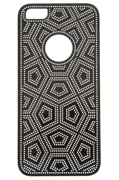 10 Stylish iPhone Cases and Covers: iCoverLover Mesh Carbon-Fiber Onyx iPhone 5 Case from The Iconic.