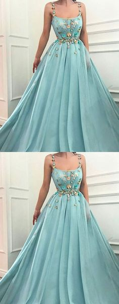 Fashion Green tulle long prom dresses Sexy Evening Dresses c8139563c68