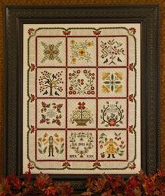 Blossoms in Baltimore - Cross Stitch Pattern