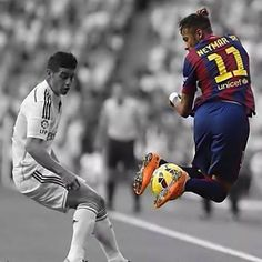 James Rodriguez x Neymar Good Soccer Players, Soccer Fans, Play Soccer, Football Players, James Rodriguez, Lionel Messi, Football Is Life, Sport Football, Cristiano Ronaldo