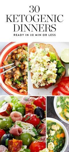 The ketogenic diet is a high-fat, moderate-protein, low-carb eating plan that could help you lose weight. If it's cool with your doctor, try one of these 30-minute keto-friendly dinners.