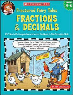 Here's a list of fraction books that are perfect for grades 3 - 5! #math #fractions