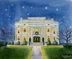 Christmas Home Tour Portrait for The Dallas Womans Forum » Posta Bella