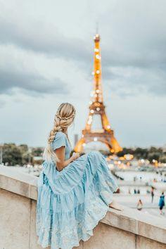 Dreamy Eiffel Tower shot!  INSTAGRAM: @eva_phan  MORE PARIS STYLE AND TRAVEL TIPS: eva-darling.com