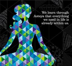 "Asteya in action: Practicing an ancient concept in the modern world. (""Asteya"" = ""non-stealing"") Spiritual Inspiration, Yoga Inspiration, Namaste, Yamas And Niyamas, 8 Limbs Of Yoga, Yoga Themes, Yoga Philosophy, Yoga Teacher Training, Ashtanga Yoga"