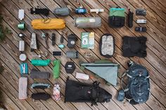 Bikepacking Gear List - Packlist
