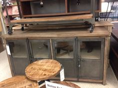 . Eclectic Kitchen, Entryway Bench, Countertops, Buffet, Flooring, Cabinet, Storage, Furniture, Home Decor