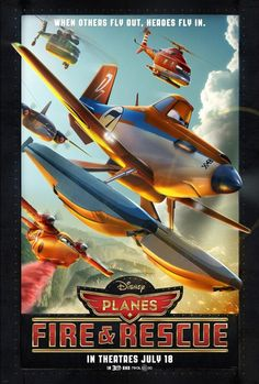 Watch Planes: Fire & Rescue (2014) Online For Free Full Movie English Stream