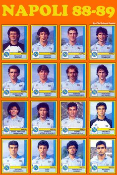 NAPOLI 1988-89