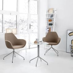 Home? Office? Conference room or restaurant? There are many places, where our Fan chair can bring you comfort!   #fan #profim #piotrkuchcinski #design #comfort #relax #modernfurniture #furnituredesign #universal #elegant #seating #inspiration #interiordesign #officesolution #architecture #interior #style #decor #furniture #art #designer #fashion #minimal #decoration Home Office, Office Desk, Modern Furniture, Furniture Design, Soft Seating, Dining Chairs, Relax, Interior Design, Inspiration