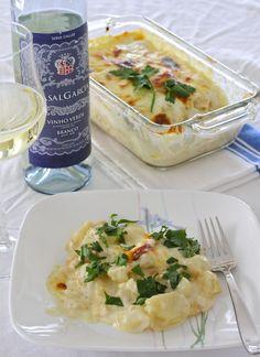 Salted Cod with Cream (Bacalhau com Natas)