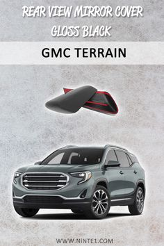 Gloss Black Rear View Mirror Covers For 2018 2019 Chevrolet