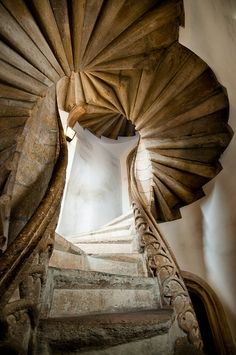 "Twin spiral staircase inside the ""Burg"", Graz, Austria Beautiful Architecture, Architecture Details, Interior Architecture, Interior Staircase, Staircase Design, Exterior Design, Interior And Exterior, Foyers, Stair Elevator"