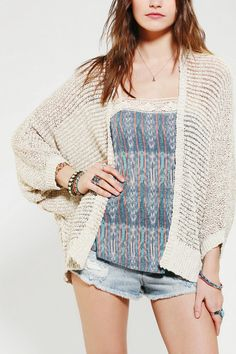 Staring At Stars Tuck Stitch Dolman Cardigan, tried on this sweater and i'm absolutely obsessed