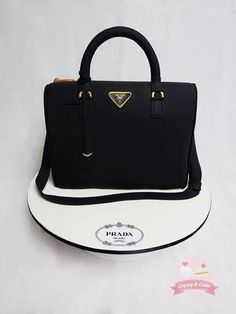 prada purse cakes   Prada bag cake - CakesDecor