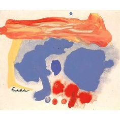 Summerscene, Provincetown, Helen Frankenthaler, 1961. #fonnesbechfondness…
