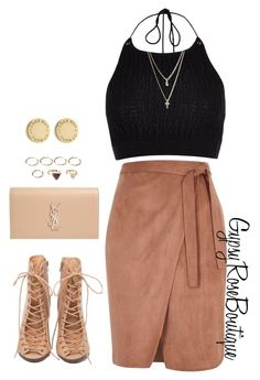 """""""#604"""" by gypsyroseboutique on Polyvore featuring River Island, Rebecca Minkoff, Yves Saint Laurent, Forever 21, Marc by Marc Jacobs and LOFT"""