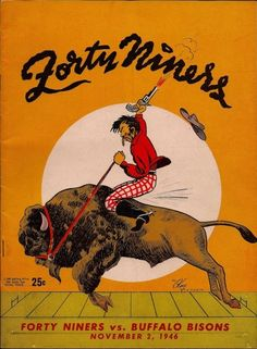 49ers Football Program from 1946
