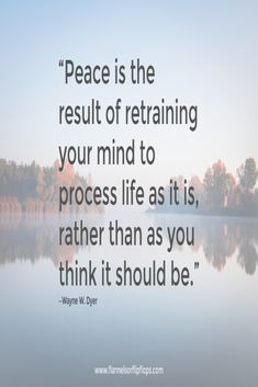10 Quotes to help you find peace