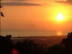 Sunset at Manuel Antonio National Park Area - YouTube