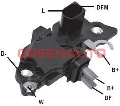 Car Ecu, Voltage Regulator, Bmw X3, Honda Civic, Mercedes Benz, Oem, Charcoal