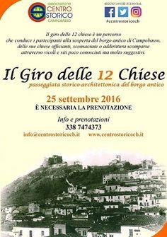 Campobasso il Giro delle 12 Chiese torna il 25 settembre
