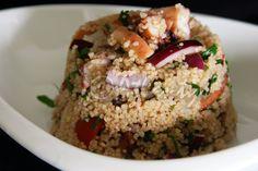 Terapia do Tacho: Salada de polvo com couscous (Octopus couscous salad)
