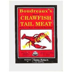Boudreaux's Tail Meat Crawfish, 12 oz