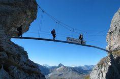 Klettersteige Braunwald   Braunwald Utility Pole, Travel, Climbing, Woodland Forest, Get Tan, Viajes, Destinations, Traveling, Trips