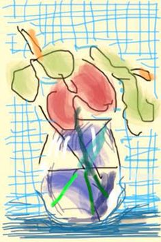 iPhone Drawing, 2009