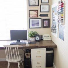 22 best filing cabinet desk images diy ideas for home windows rh pinterest com