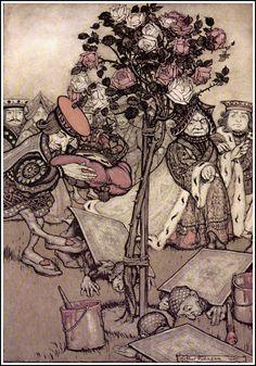 Image detail for -File:Alice in Wonderland by Arthur Rackham - 12 - Turn them over.jpg ...