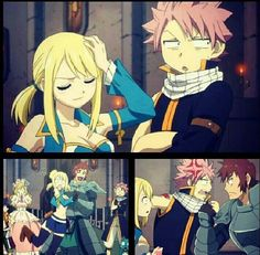 Natsu & Lucy from Fairy Tail || anime