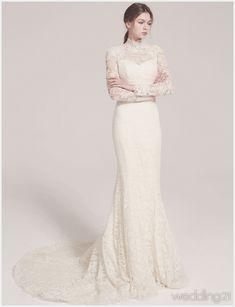 [웨딩드레스] ① 절제된 아름다움의 진수를 느끼게 하는 웨딩드레스, 로브드케이