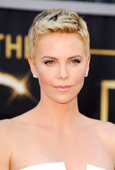Charlize Theron, 7 Fresh Spring Haircuts