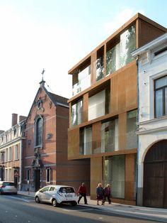 site BROELKANT   kortrijk - Projects - CAAN Architecten / Gent