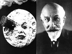 Magician turned Film-Maker, Georges Méliès was a was a prolific special effects innovator. He created a mind-boggling films — most famously A Trip to the Moon in which was AMAZING for its time! Makeup Collage, Werner Herzog, Film School, Romance Movies, Action Film, Portraits, Silent Film, Film Movie, Photography Camera
