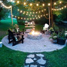 50 Lovely Rustic Backyard Design Ideas - Page 46 of 50 - Afifah Interior Backyard String Lights, Backyard Lighting, Outdoor Lighting, Lighting Ideas, Pathway Lighting, Outdoor Decor, Tropical Garden Design, Backyard Garden Design, Backyard Designs