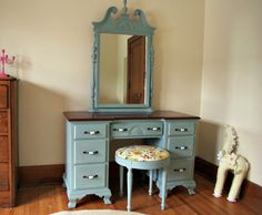 how to chalk paint furniture 10