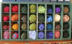 Yarn. From the Living With Kids Home Tour featuring Ginger Johnson
