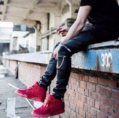 Slim Modern Leather Pants