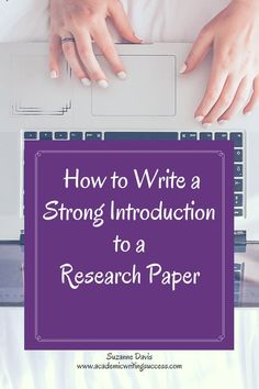 Every great research paper starts with a strong introduction. You want to engage readers and make them want to continue reading your research paper. Check out this post and learn 3 things every great introduction needs. Want more help with introduction Best Paper Writing Service, Custom Essay Writing Service, Custom Writing, Writing Paper, Writing Services, Academic Essay Writing, Research Writing, Dissertation Writing, English Writing